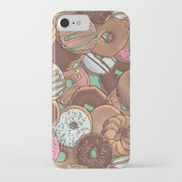 donuts iPhone & iPod Cases featuring Donuts by Mario Zucca