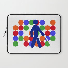 COLOR BLINDNESS Laptop Sleeve
