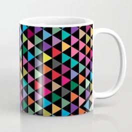 Triangles Mosaic Pattern Coffee Mug