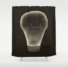 Filament Shower Curtain