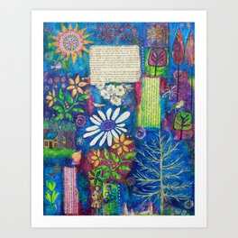 A Place of Contentment Art Print