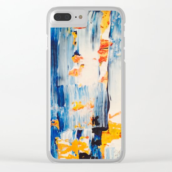 THREADED Clear iPhone Case