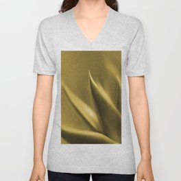 Succulent Plant In Golden Glow #decor #society6 #homedecor #buyart Unisex V-Neck