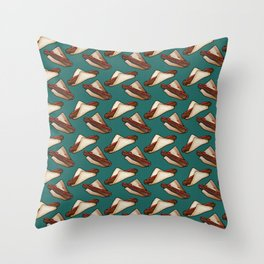 Aussie Sausage BBQ in Green, Small Throw Pillow