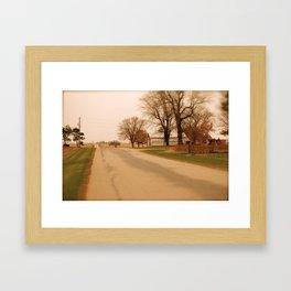 Hometown Glory II Framed Art Print