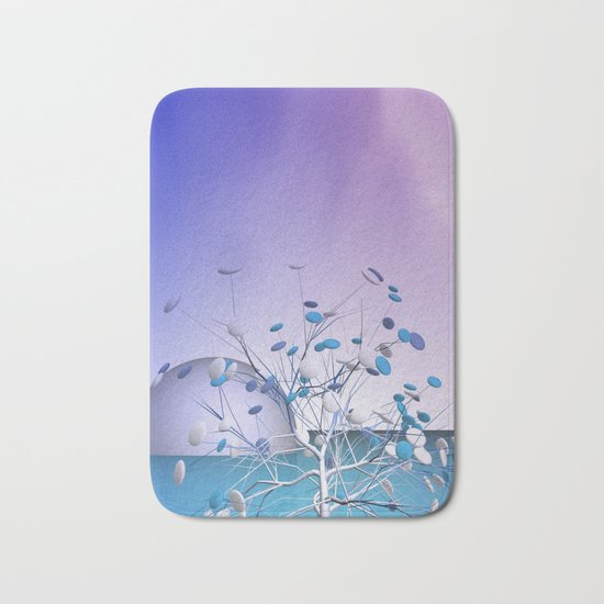 window curtain - candytree Bath Mat