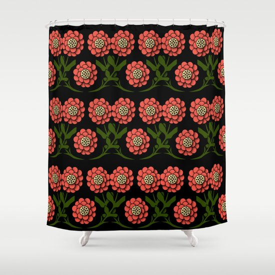 Flower 6 Shower Curtain