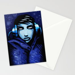 CyberGirl Stationery Cards