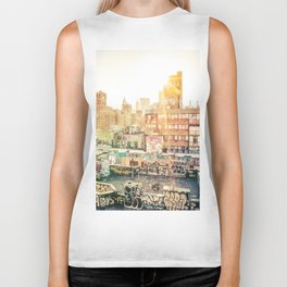 New York City Graffiti Biker Tank