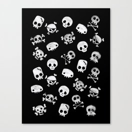 Cute Skull Canvas Print