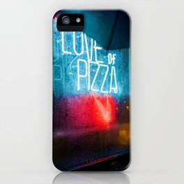 Love of Pizza (Color) iPhone Case