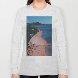 In The Sky Over Hawaii Long Sleeve T-shirt