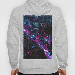 Cyberpunk Vaporwave City Hoody