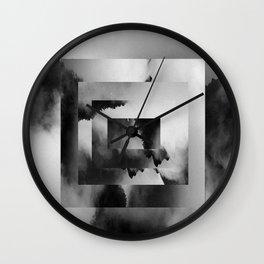 Jade Dragon Mountains Wall Clock