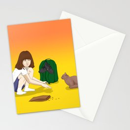 Old friend, I have a gift for you Stationery Cards