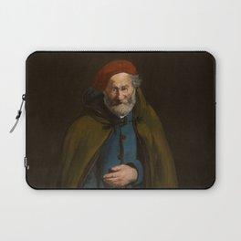 "Édouard Manet ""Beggar with a Duffle Coat (Philosopher)"" Laptop Sleeve"