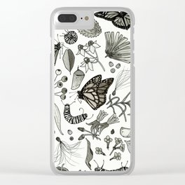 Monarchy Clear iPhone Case