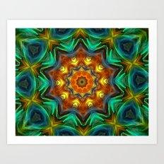 Mandala - Soul Live Art Print
