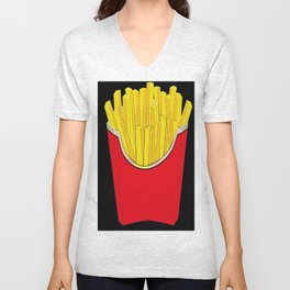 Do You Want Fries With That Unisex V-Neck