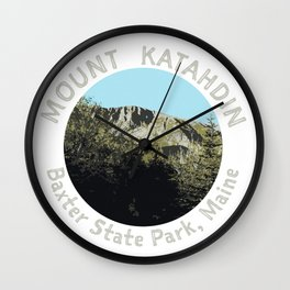 Mount Katahdin Wall Clock