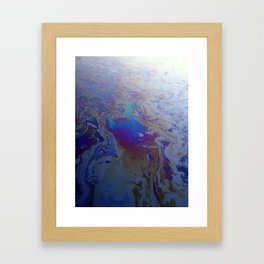 Gowanus Oil Slick Framed Art Print