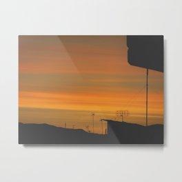 My sunset view! Metal Print
