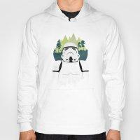stormtrooper Hoodies featuring Stormtrooper by Robert Scheribel