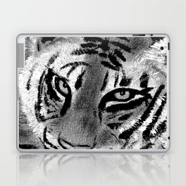 Tiger with White Background Laptop & iPad Skin