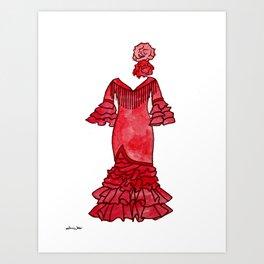 Red Passion Art Print