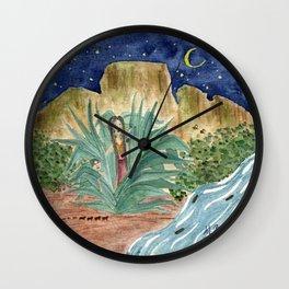 Tepoz Wall Clock