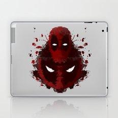 Dead Ink Blot Laptop & iPad Skin