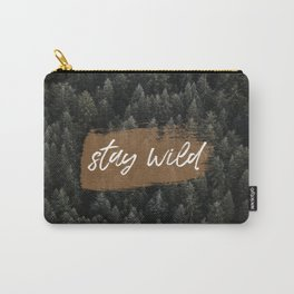 STAY WILD II Carry-All Pouch