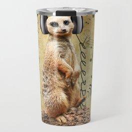 Jammin' Meerkat Travel Mug