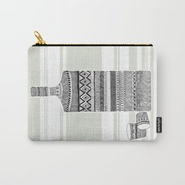 Patterned Bottle Carry-All Pouch