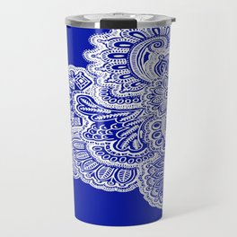 Half Navy Travel Mug