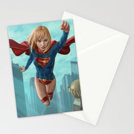 Supergirl New 52 Stationery Cards