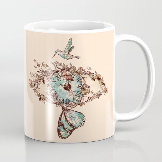 Watching the Passage of Time Coffee Mug