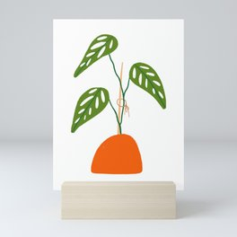 Swiss Cheese Vine Plant Mini Art Print