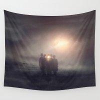 la Wall Tapestries featuring La Reunion by Viviana Gonzalez