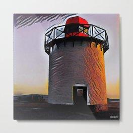 Burry Port Lighthouse Metal Print