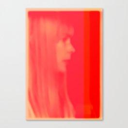 joni mitchell (pink) Canvas Print