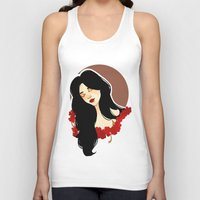 belle Tank Tops featuring belle by chazstity