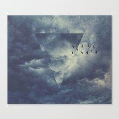 sky forms Canvas Print