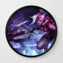 Challenger Nidalee League OF Legends Wall Clock
