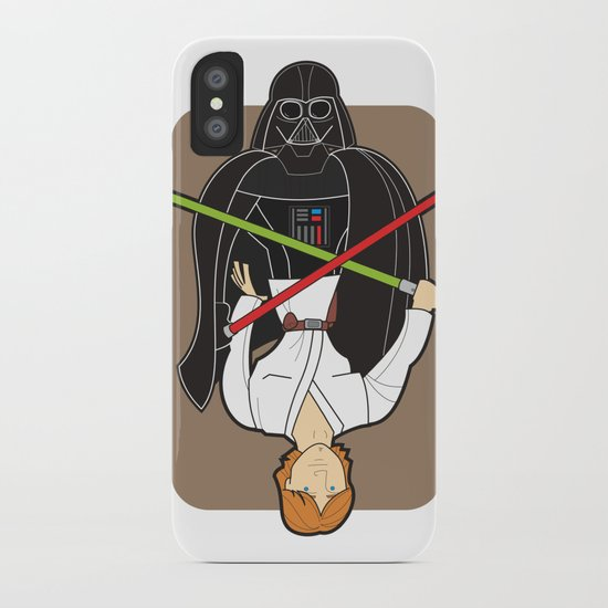 Darth Vader and Luke iPhone Case