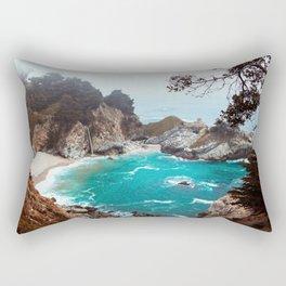 Julia Pfeiffer Burns State Park Rectangular Pillow