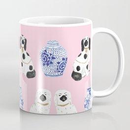 Staffordshire Dogs + Ginger Jars No. 4 Coffee Mug
