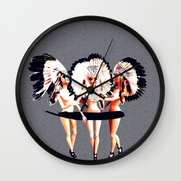 TRIBE BARBIE Wall Clock