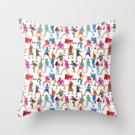 Dance, Dance, Dance! Throw Pillow