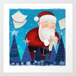 Letters to Santa Art Print